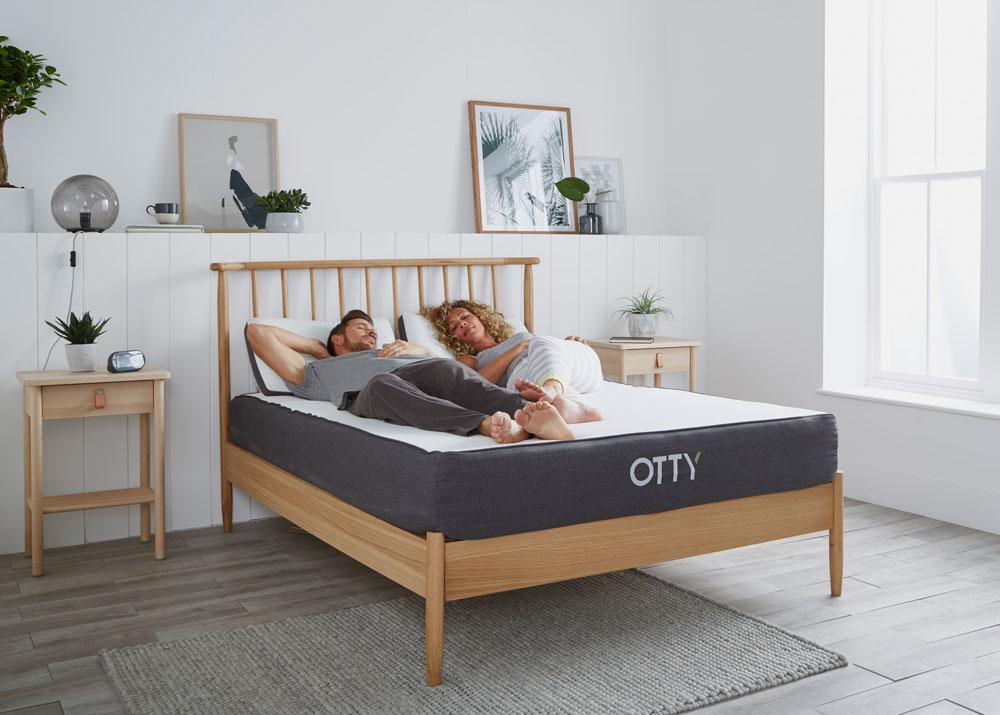 OTTY Aura Memory Foam Mattress Double Hybrid